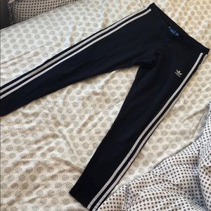 Adidas Leggings - Navy Blue